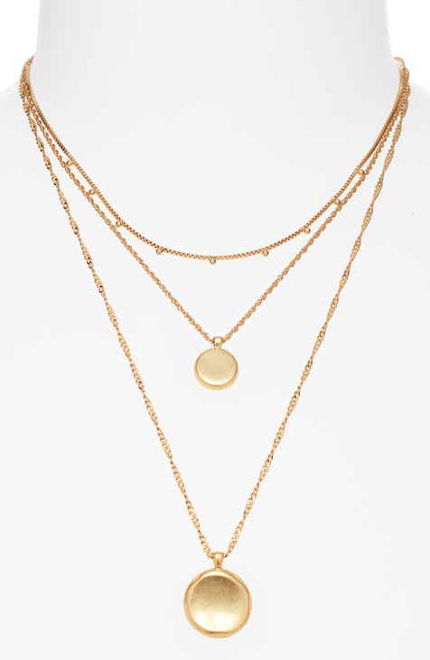 2e8ce155c6b875 Madewell Coin Layered Necklace. $48.00. (8). Product Image. Previous. ROSE  GOLD FILIGREE