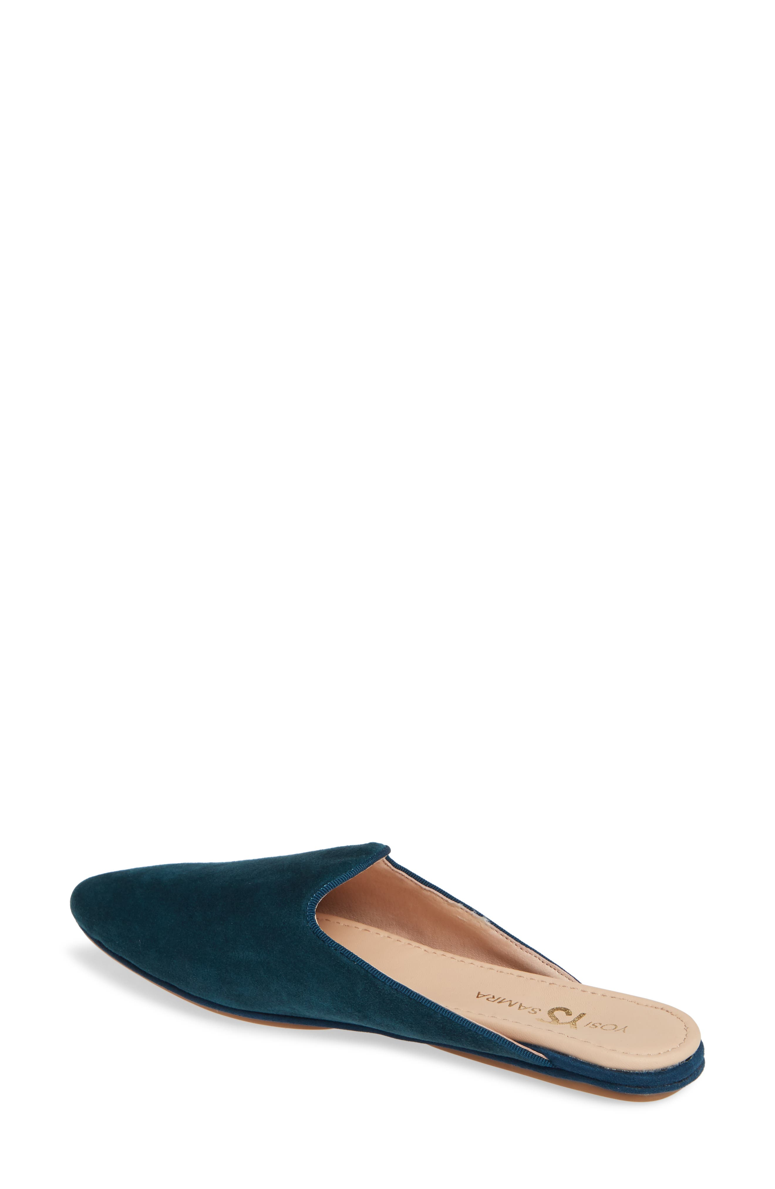 Vidi Mule,                             Alternate thumbnail 2, color,                             Teal Suede