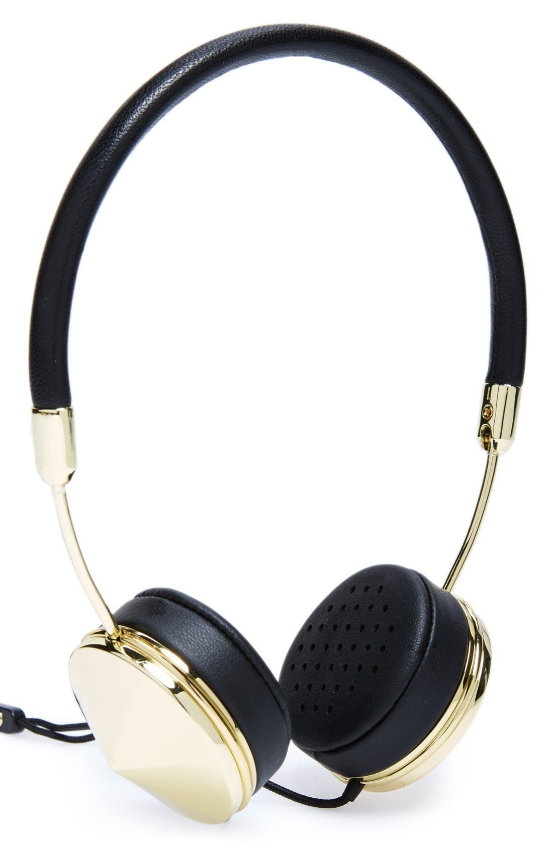 with Benefits 'Layla' Headphones,                             Main thumbnail 1, color,                             Gold/ Black