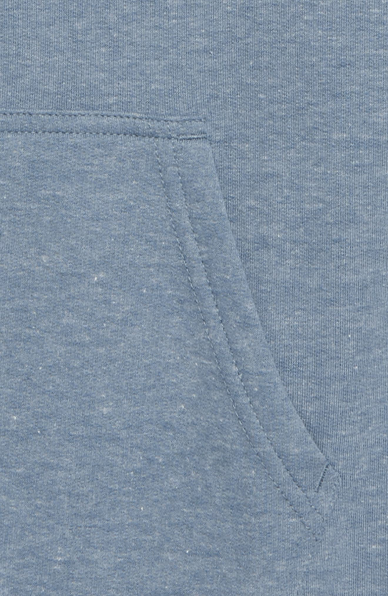All Day Hoodie,                             Alternate thumbnail 2, color,                             Washed Blue