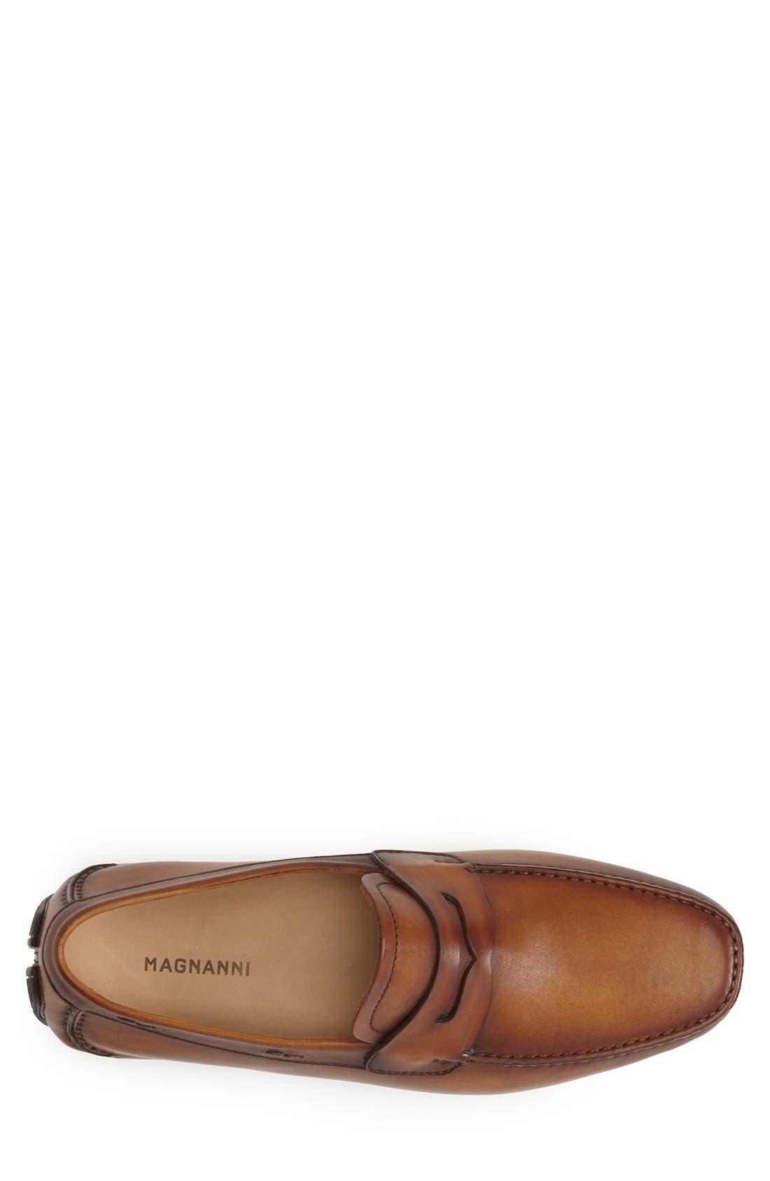 Alternate Image 3  - Magnanni 'Dylan' Leather Driving Shoe (Men)