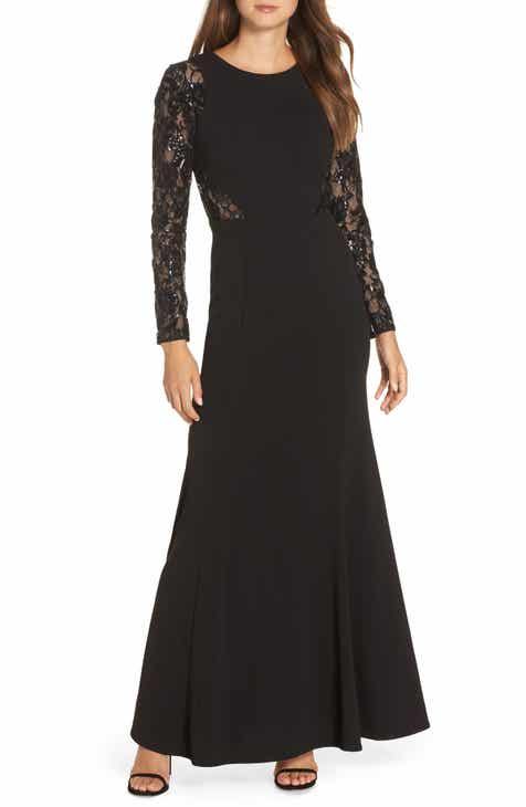 Women\'s Long Sleeve Formal Dresses | Nordstrom
