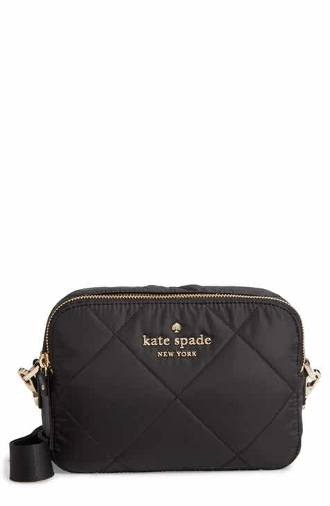Kate Spade New York Watson Lane Quilted Amber Nylon Crossbody Bag