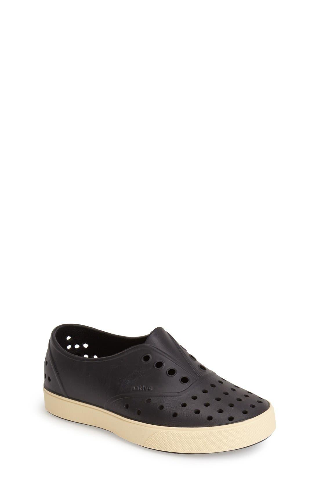 Alternate Image 1 Selected - Native Shoes Miller Slip-On Sneaker (Walker, Toddler & Little Kid)