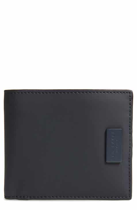 5169042ca1afc ... Dock Colour Bi-fold Wallet In Navy fashion styles 523ef 080ca  Ted Baker  London Rubber Leather Bifold Wallet shoes for cheap 6ff92 d9d5b ...