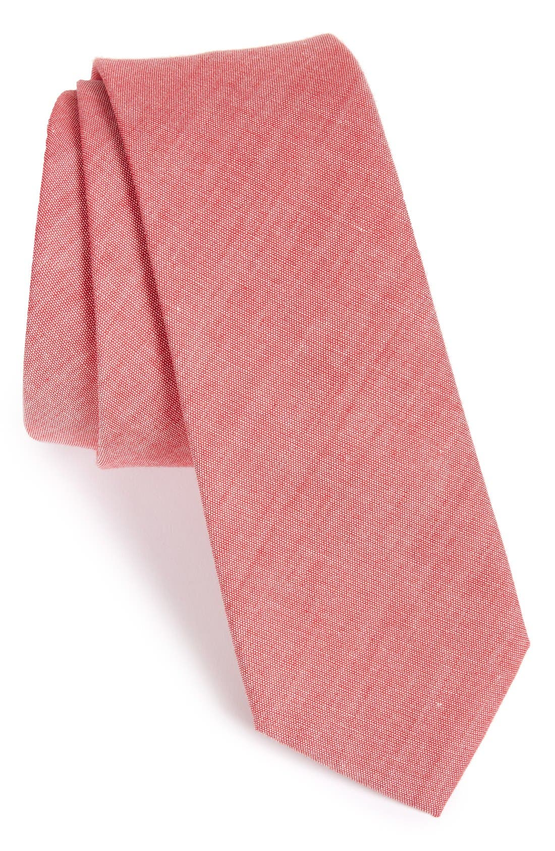 Main Image - The Tie Bar Cotton Tie