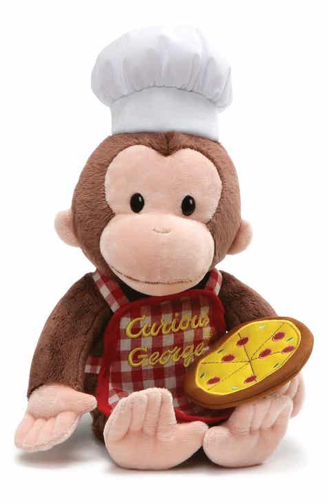 Gund Curious George® Pizza Stuffed Animal 0c8fec721