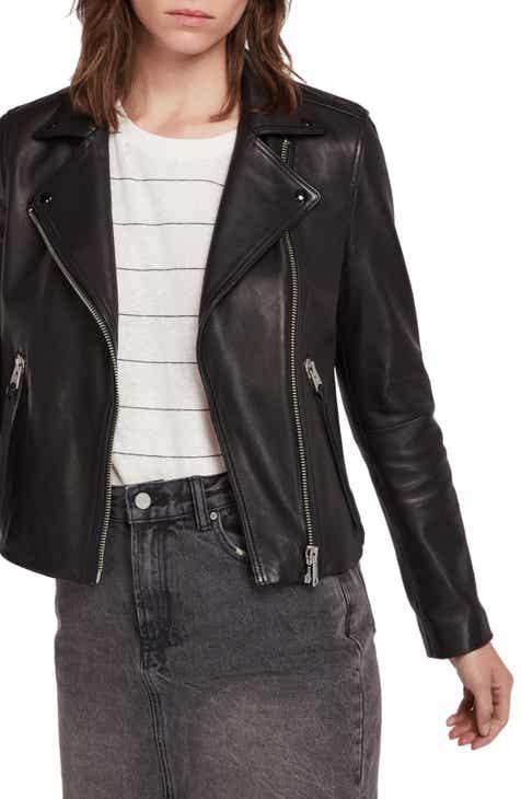 Black Leather Jacket Nordstrom