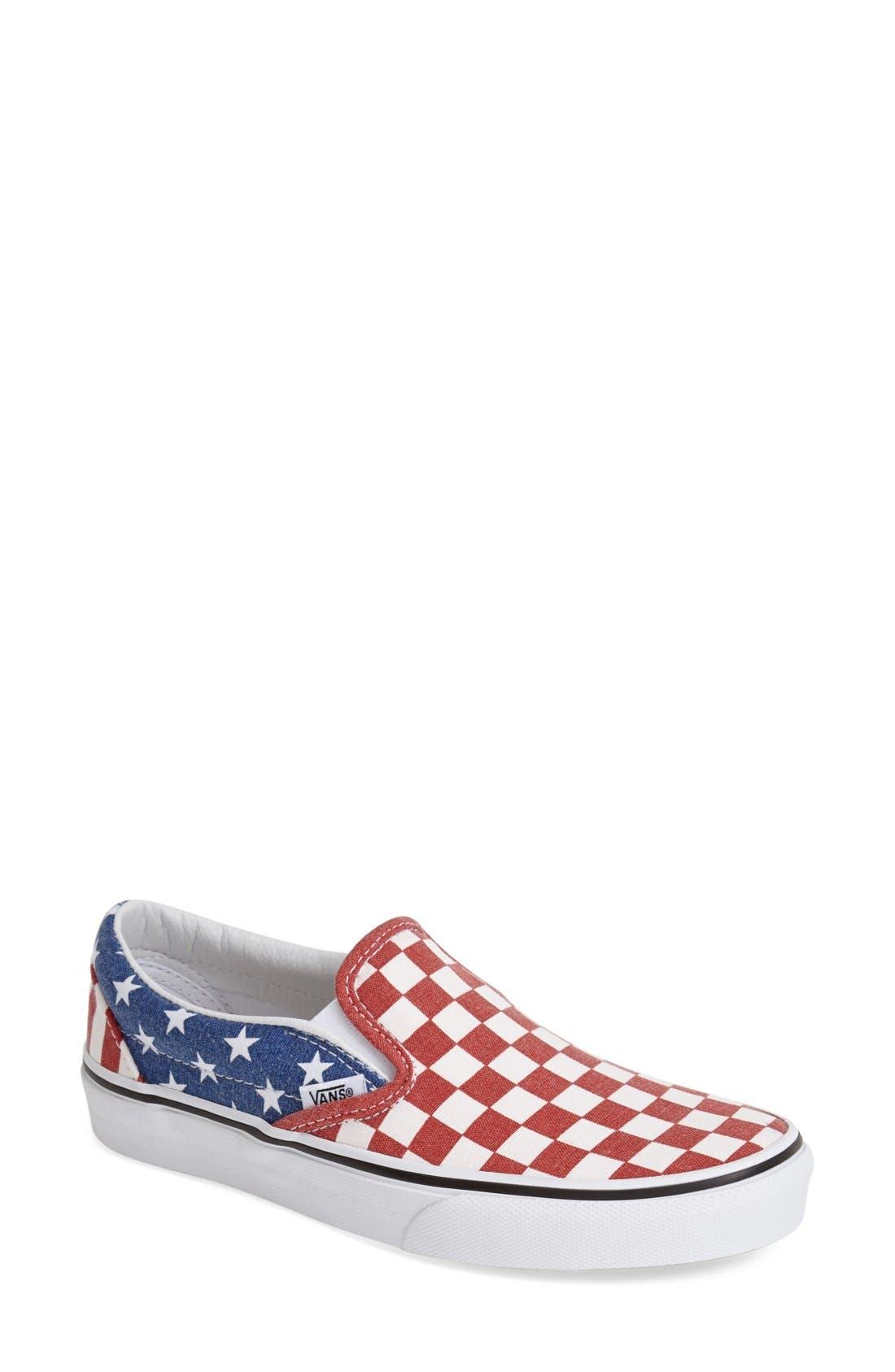 Alternate Image 1 Selected - Vans 'Van Doren' Slip-On Sneaker (Women)