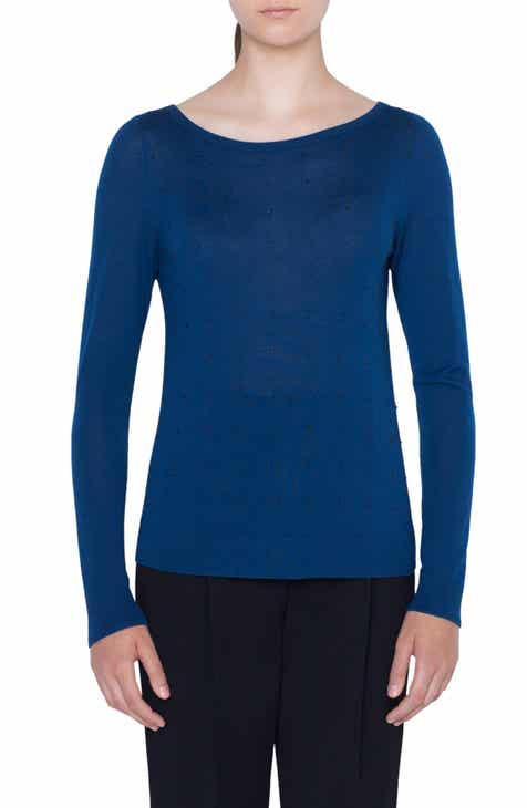 Akris punto Studded Knit Top by AKRIS PUNTO