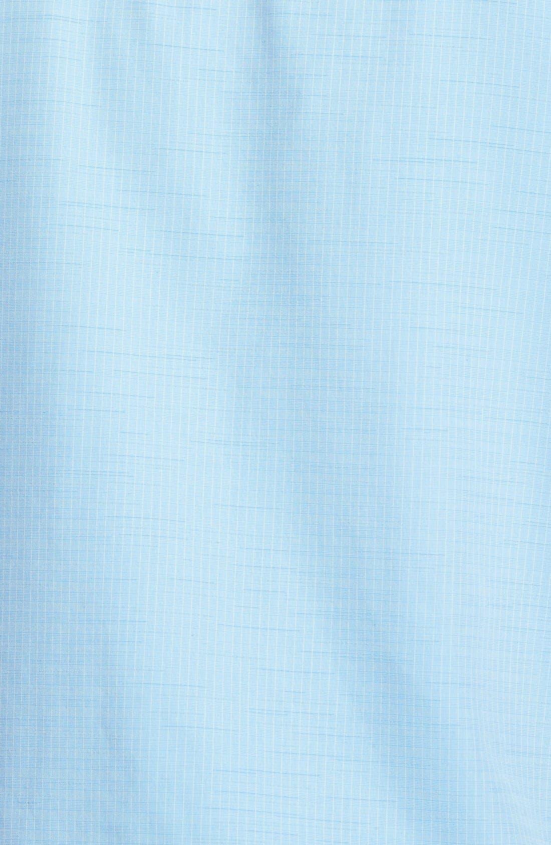 'Centinela 4' Short Sleeve Sport Shirt,                             Alternate thumbnail 3, color,                             Azure