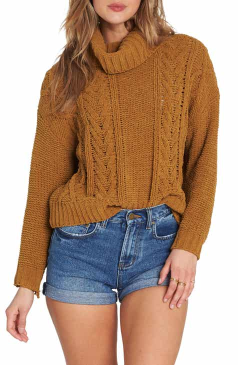 Billabong Cable Knit Turtleneck Sweater c4485ea8d