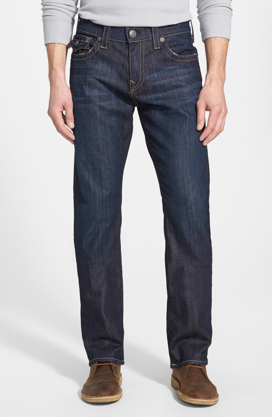 Alternate Image 1 Selected - True Religion Brand Jeans 'Ricky' Relaxed Fit Jeans (Wanted Man)