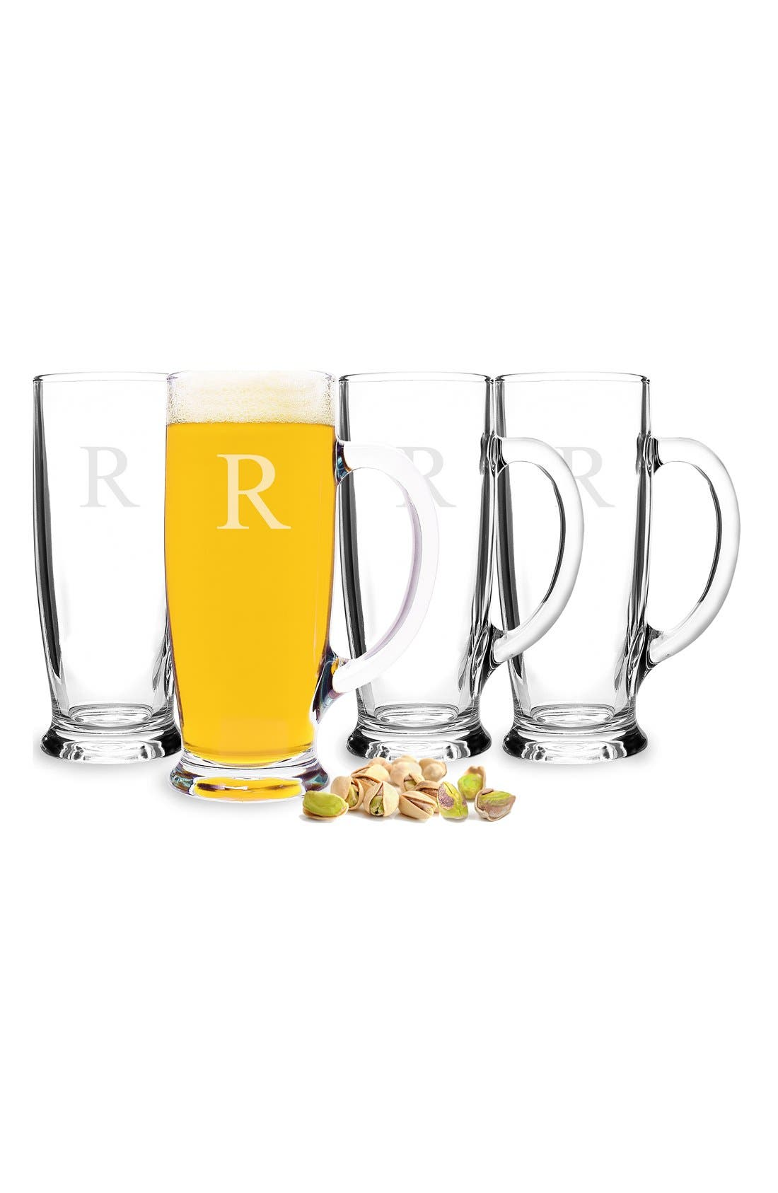 Alternate Image 3  - Cathy's Concepts Personalized Craft Beer Mugs (Set of 4)