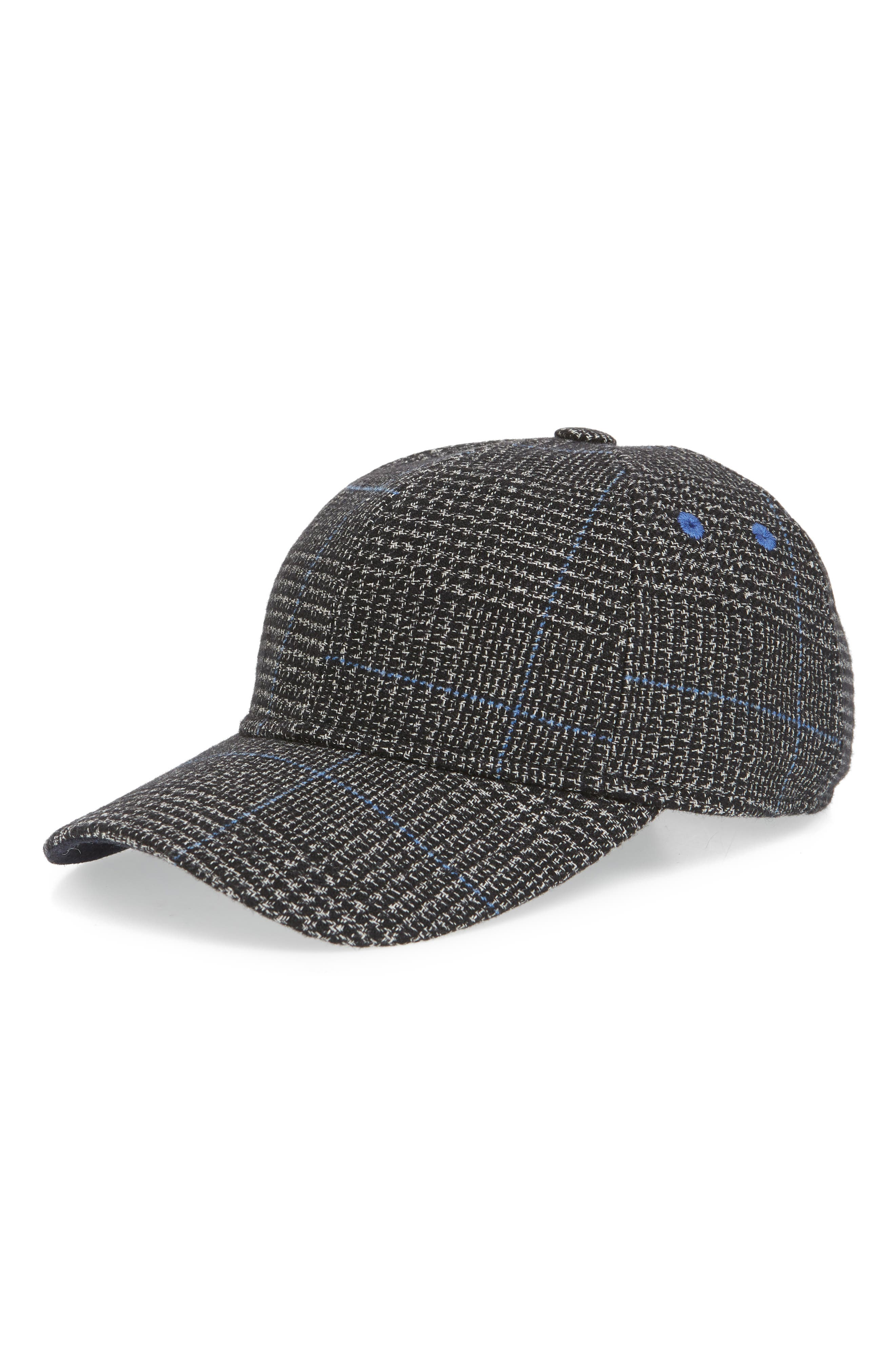 a344b24340a87 discount code for ted baker london graphic check baseball cap 91136 5a971