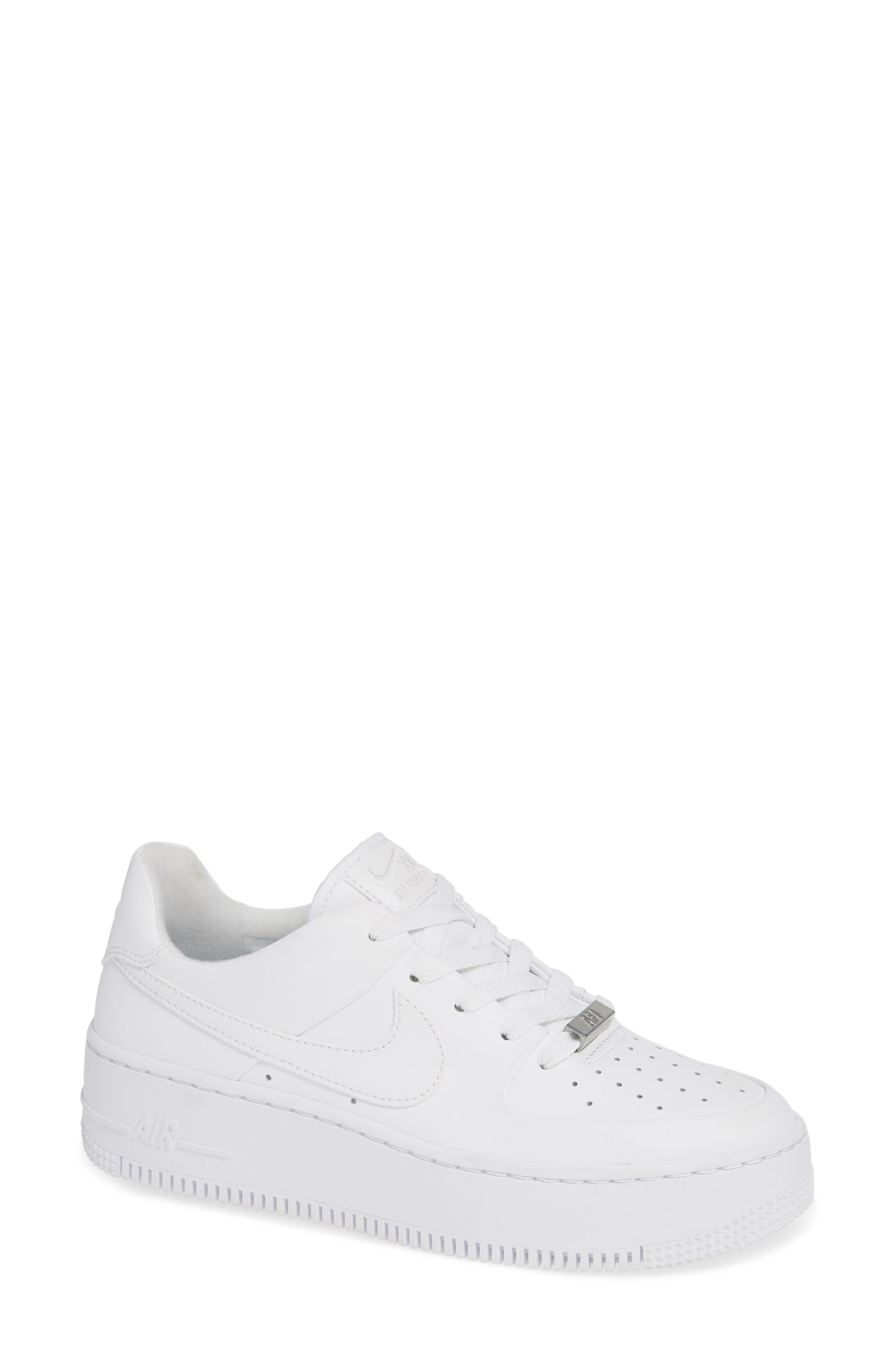 All nike white shoes for women