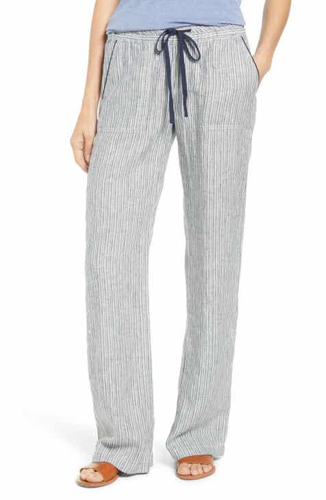 22b9e322ee5d9 Caslon® Linen Pants (Regular   Petite)