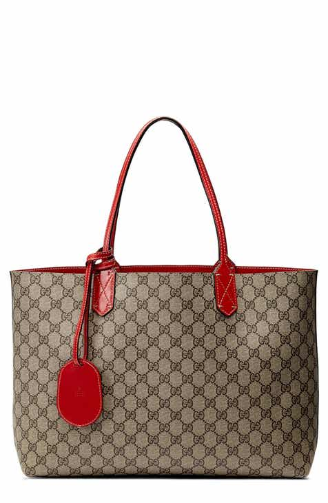 d920be927e4f75 Gucci Medium Turnaround Reversible Leather Tote