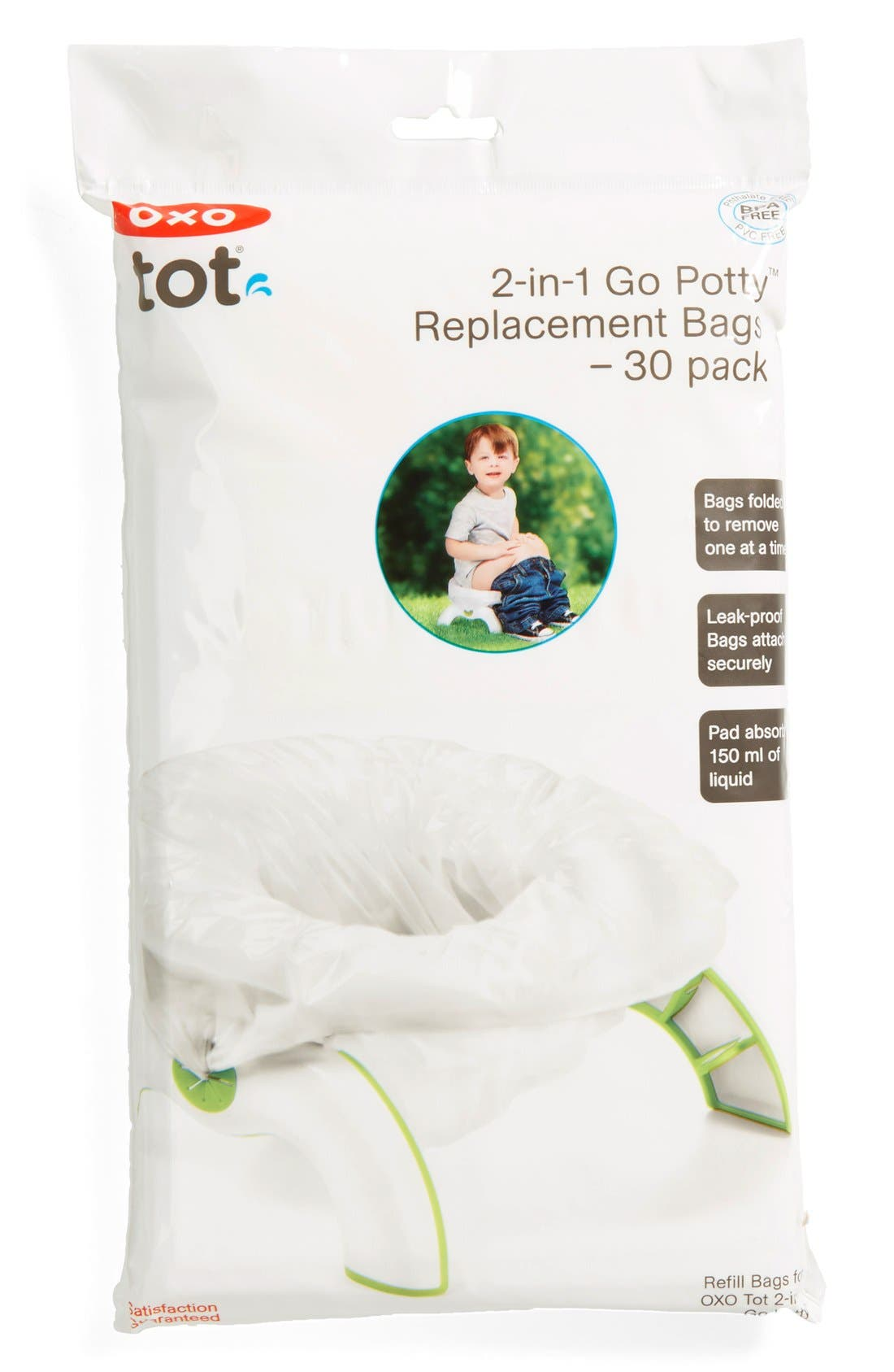'2-in-1 Go Potty' Refill Bags,                         Main,                         color, 30 Pack