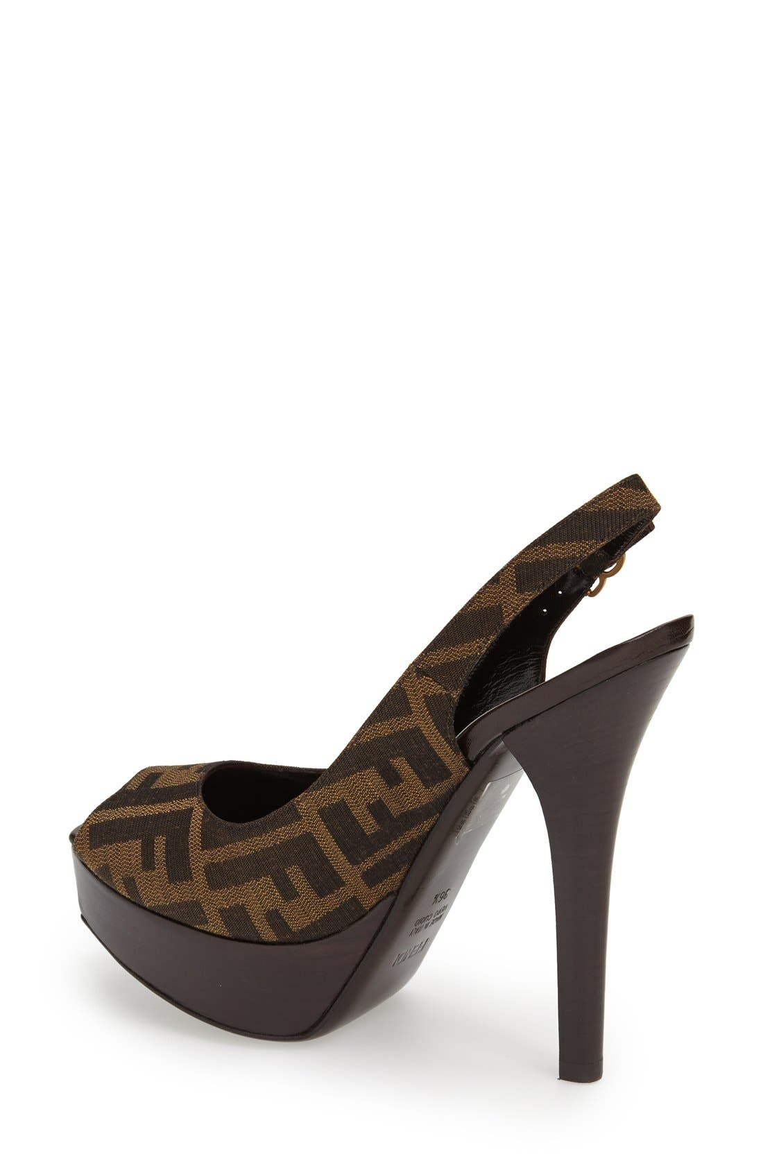 Alternate Image 2  - Fendi 'The Fendista' Platform Pump
