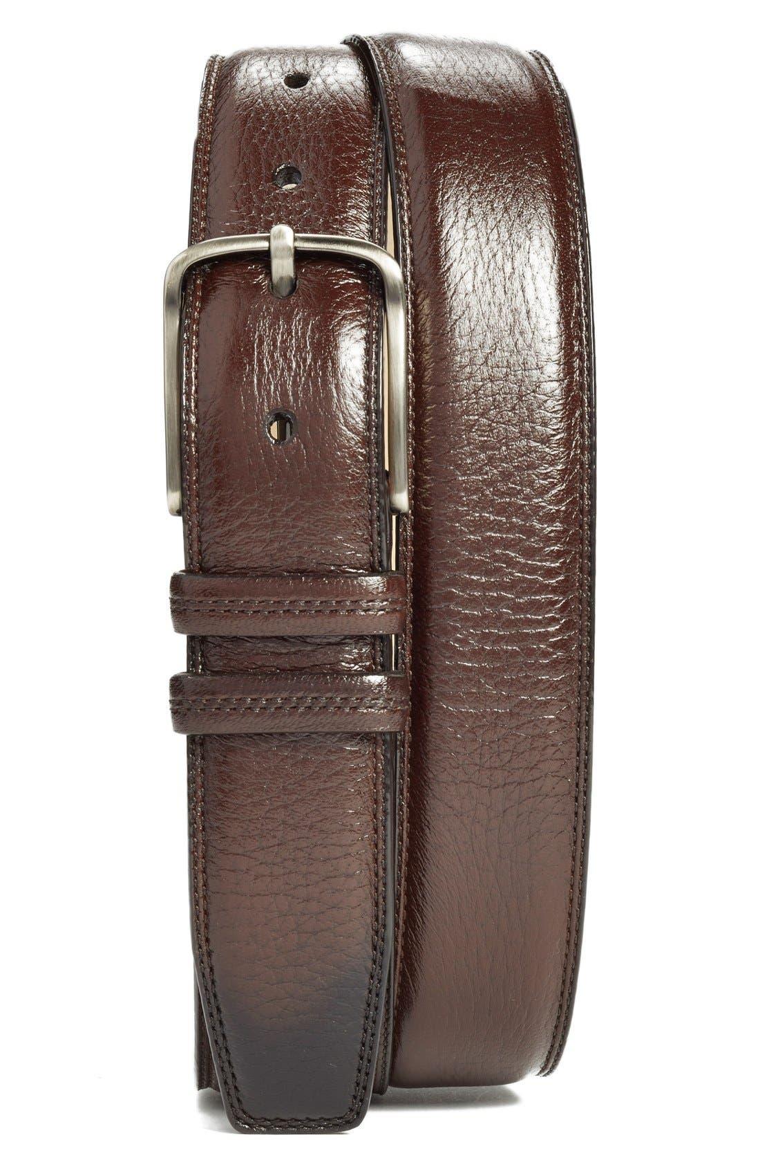 Deerskin Belt,                         Main,                         color, Brown