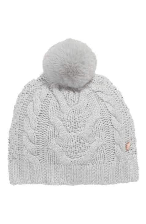 7cbc7835fbc Ted Baker London Cable Knit Beanie