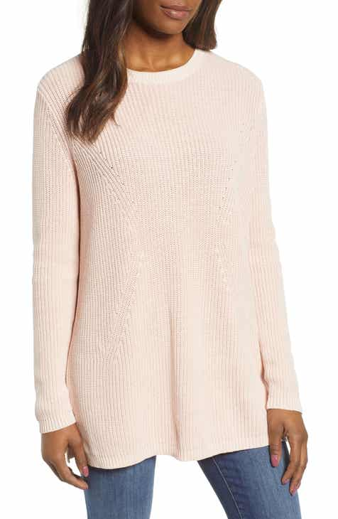 ed1a9f48dfbdcc Caslon® Tie Back Tunic Sweater
