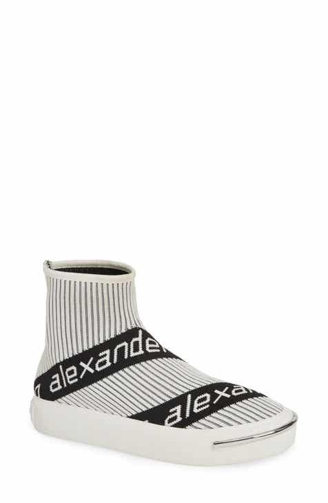 406aa81f316b Alexander Wang Pia Logo Sock Sneaker (Women)