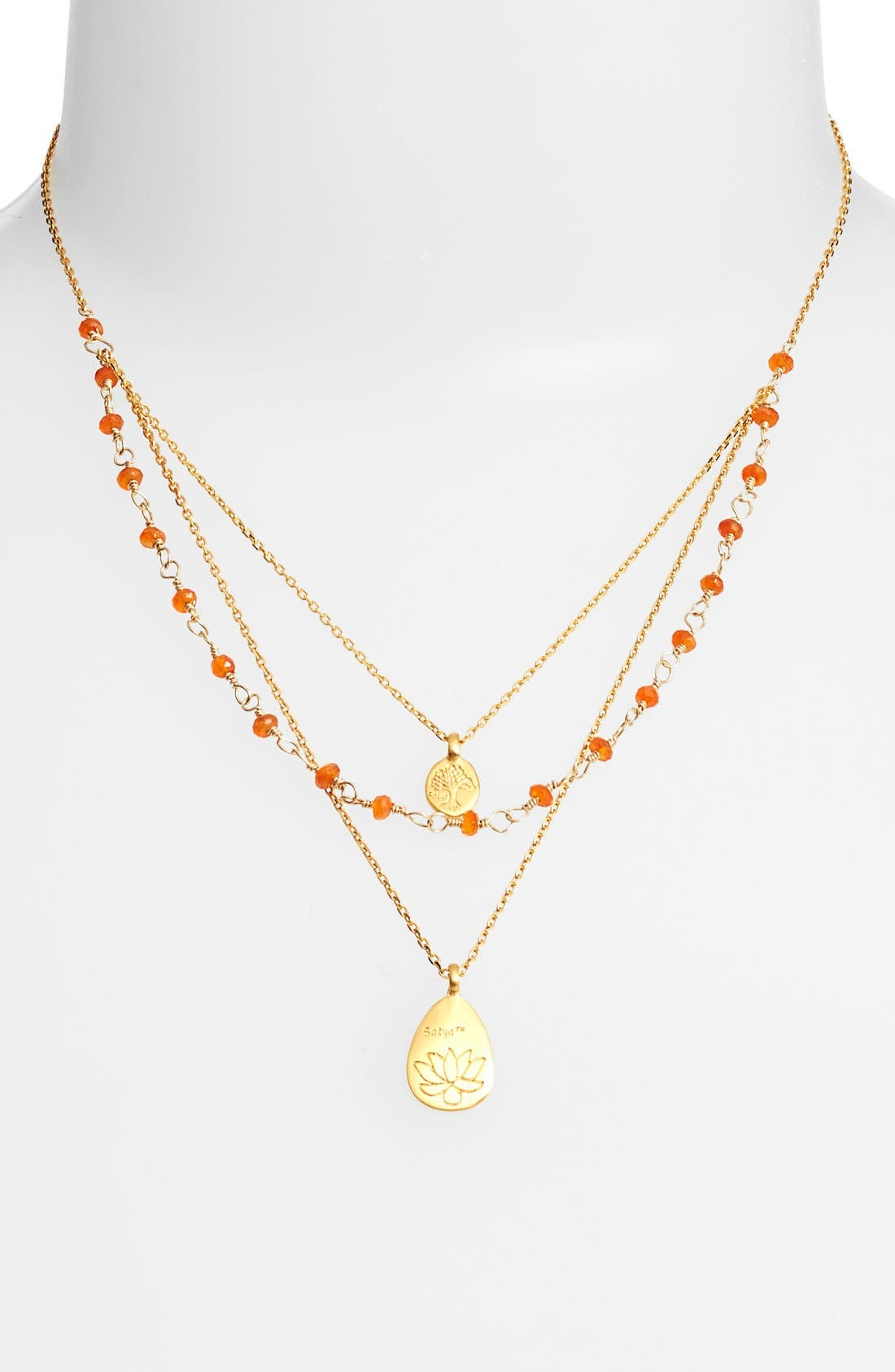 Alternate Image 2  - Satya Jewelry Beaded Layered Necklace (Nordstrom Exclusive)