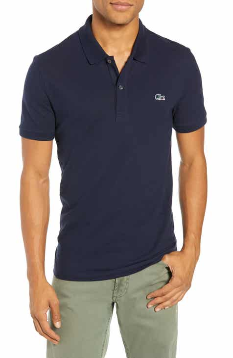 7501b3482f8 Lacoste Slim Fit Stretch Mini Piqué Polo
