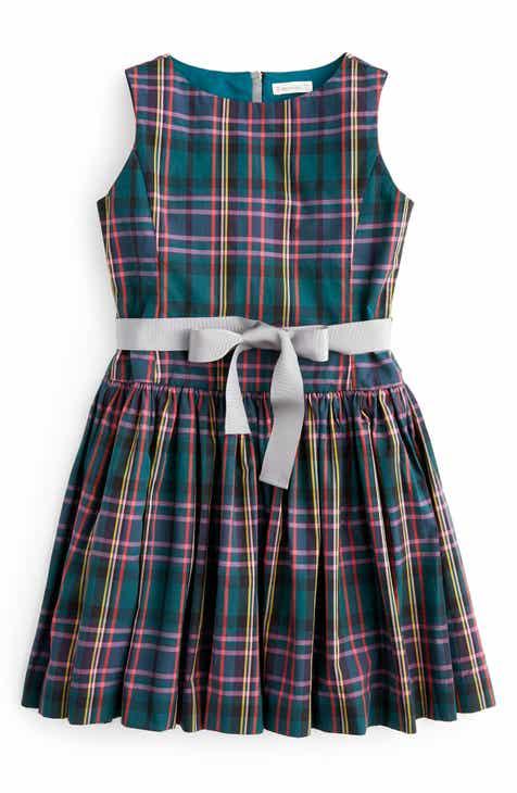 Crewcuts By J Crew Tie Waist Tartan Dress Toddler S Little