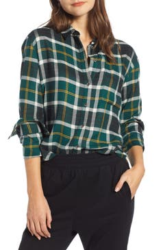 New Women S Green Tops Blouses And Tees Nordstrom
