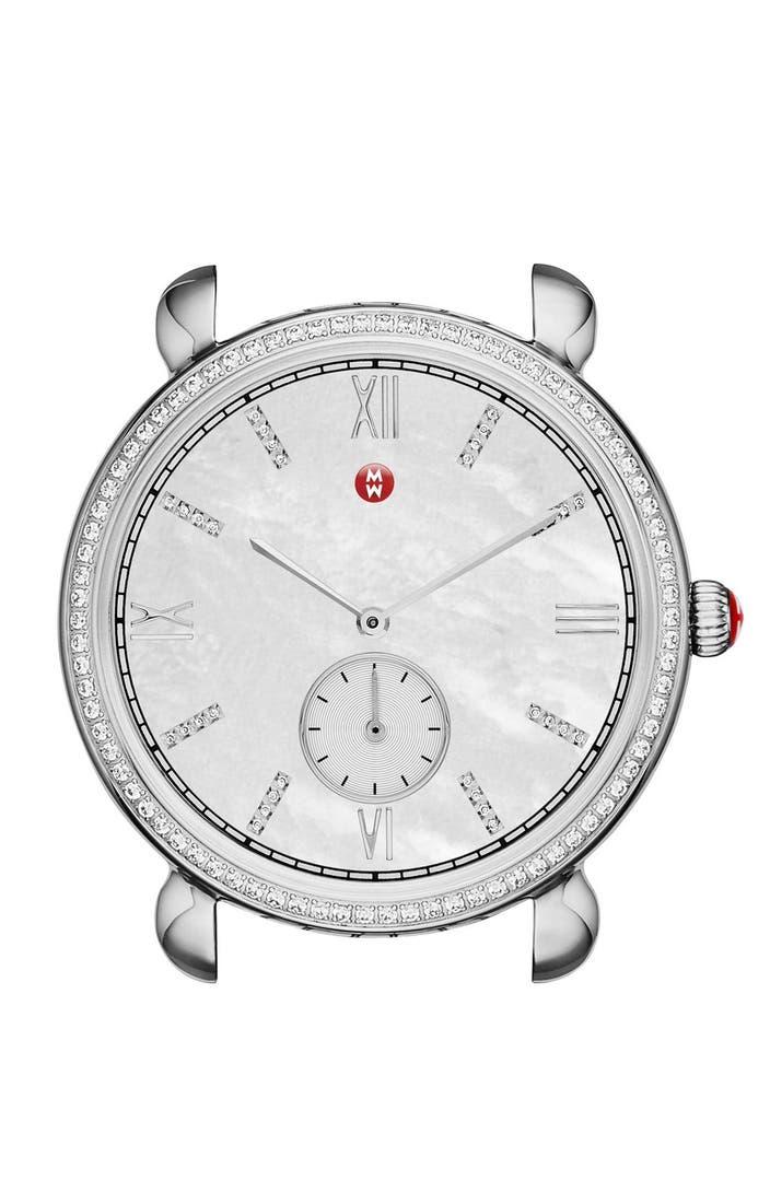 Michele Gracile Diamond Watch