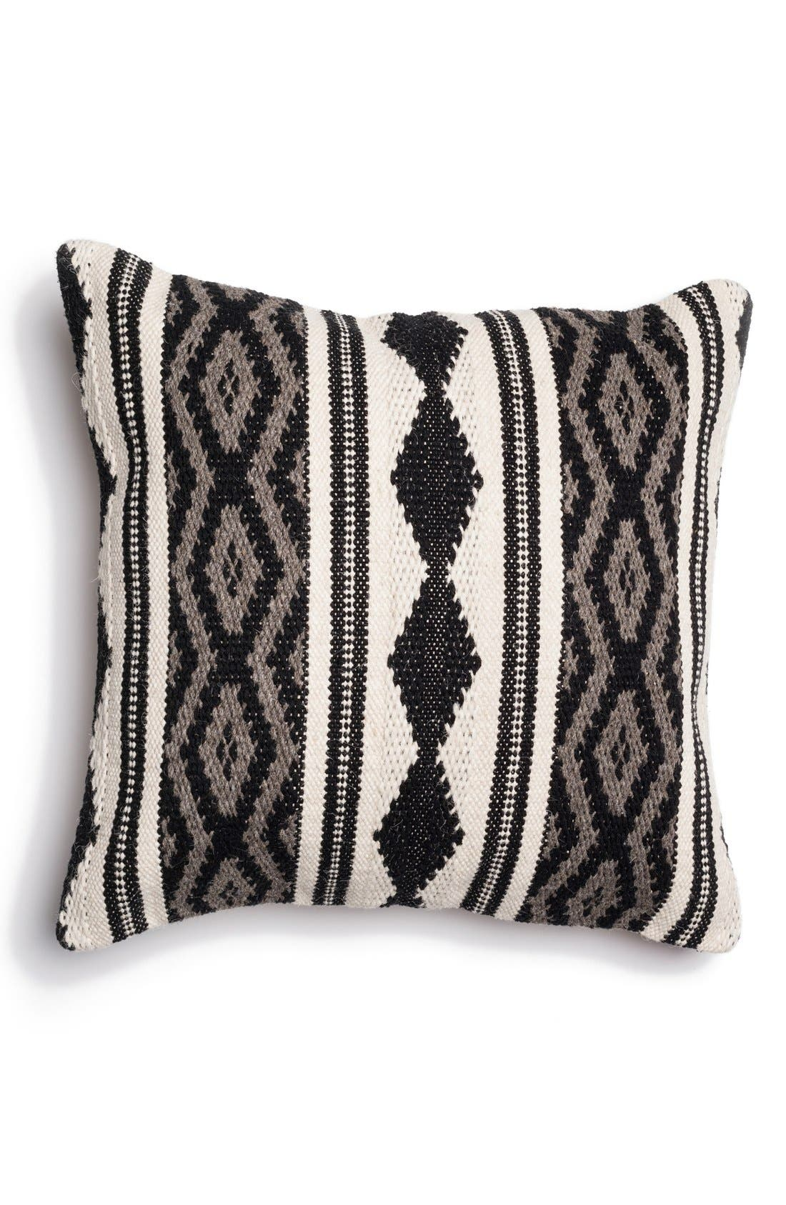 Alternate Image 1 Selected - Loloi Woven Cotton & Wool Accent Pillow