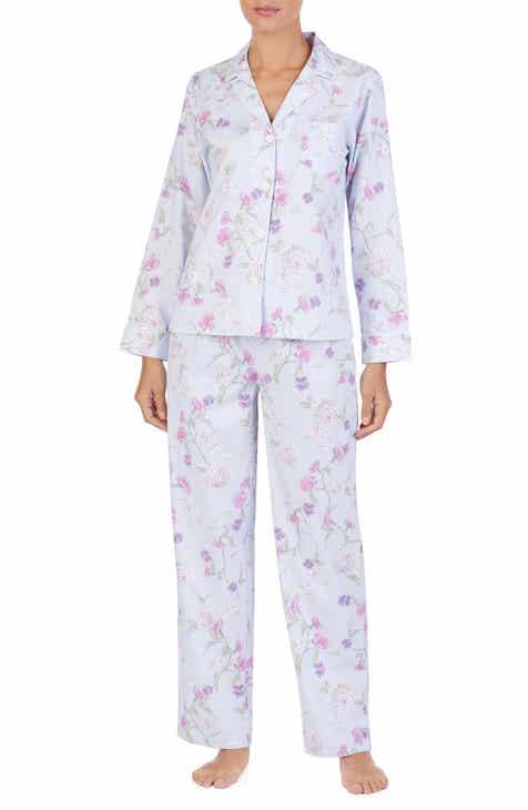 Lauren Ralph Lauren Floral Print Pajamas by LAUREN RALPH LAUREN
