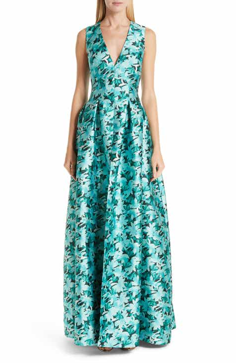 Sachin & Babi Brooke Floral Print Gown by SACHIN AND BABI NOIR