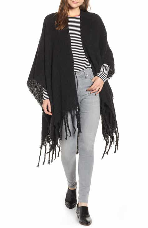 Free People Madison Fringed Wrap 4d009c331a