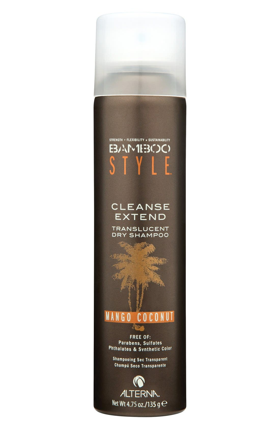 ALTERNA® Bamboo Style Cleanse Extend Translucent Dry Shampoo