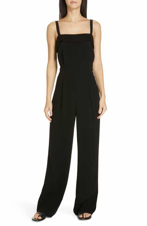 c908dd5663b0 Vince Sleeveless Tuxedo Jumpsuit