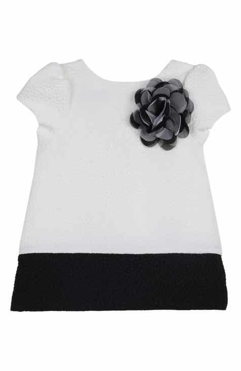 Pastourelle by Pippa & Julie Colorblock Shift Dress (Baby)