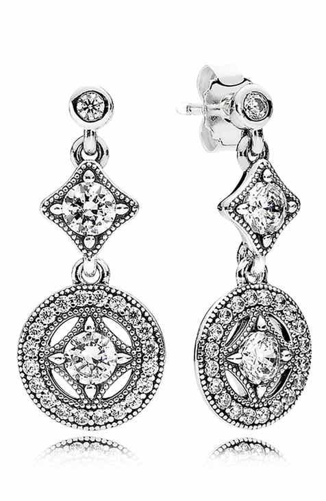 50144da50df5 PANDORA Vintage Allure Drop Earrings