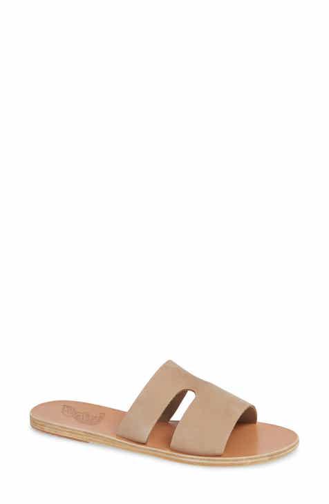 58f8d24462bd Ancient Greek Sandals Apteros Slide Sandal (Women)