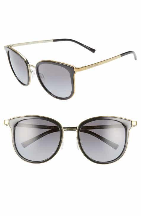 36067e179d Michael Kors 54mm Polarized Gradient Round Sunglasses