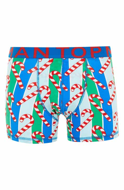 Topman Candy Cane Boxer Briefs