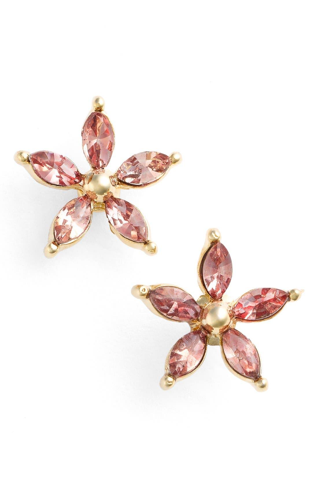 Alternate Image 1 Selected - Lauren Ralph Lauren Flower Stud Earrings