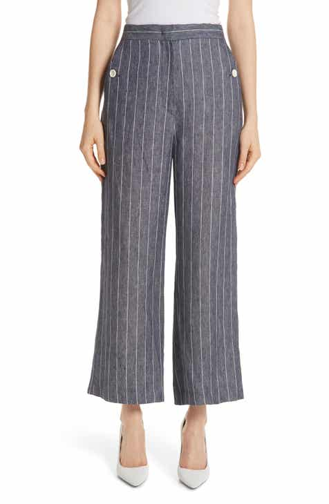 Max Mara Formia Pinstripe Linen Pants By MAX MARA by MAX MARA Looking for