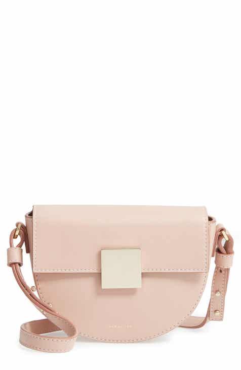 d38422100e DeMellier Mini Oslo Leather Shoulder Bag