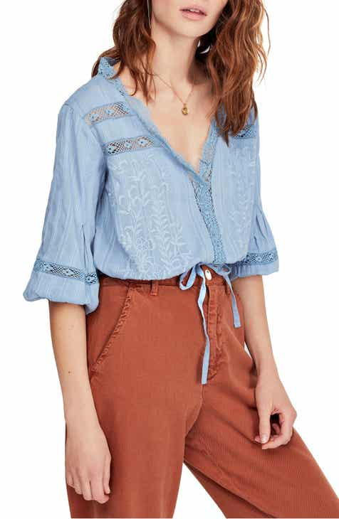 4b772617965 Free People Follow Your Heart Top