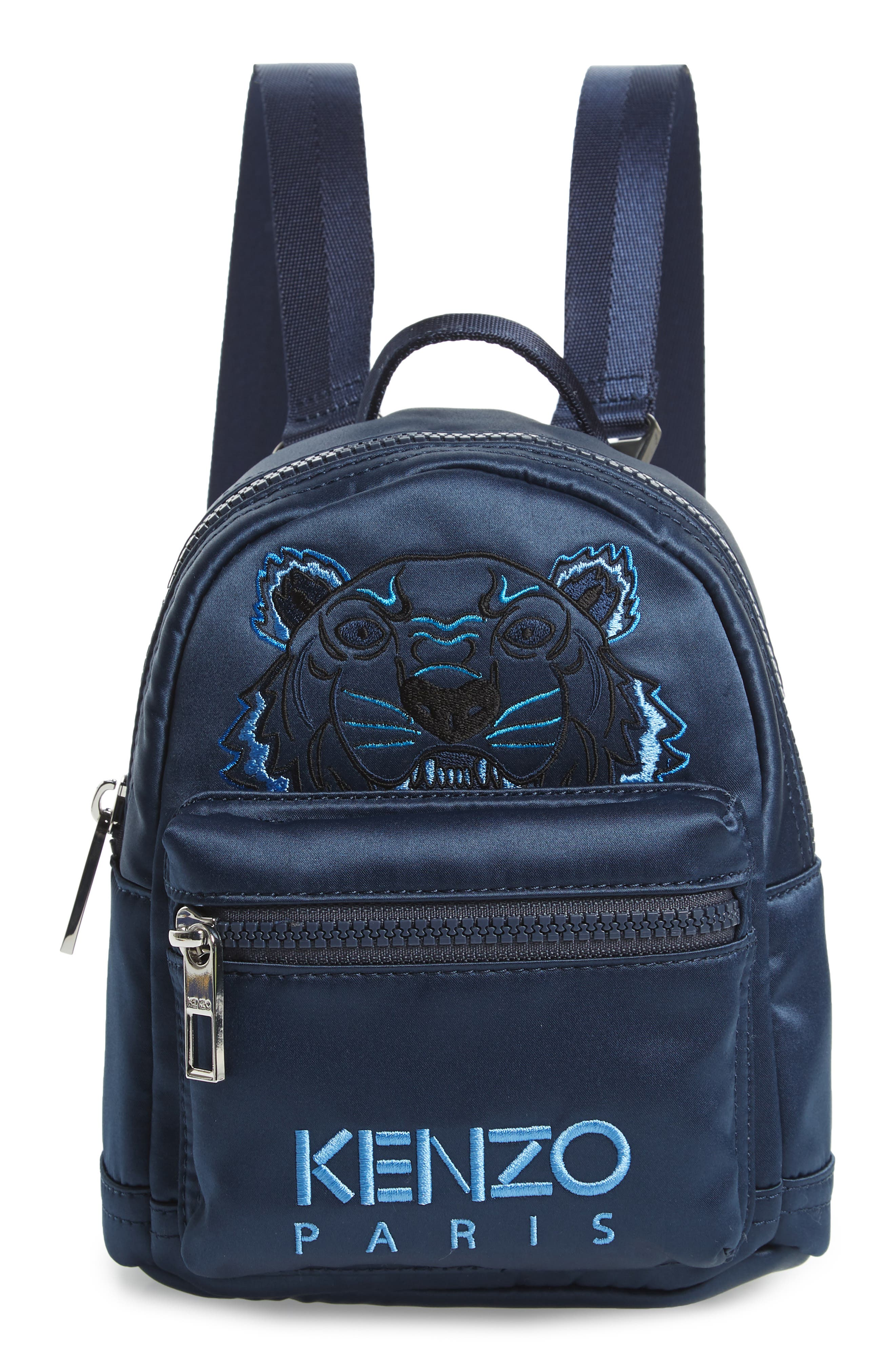 Embroidered KENZO Embroidered Backpack KENZO Tiger Mini SEvqx4w0