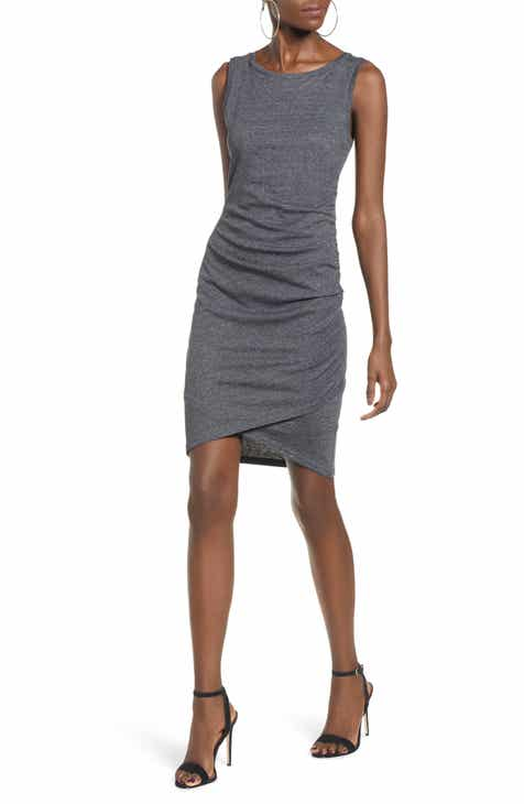 9704cf99d8 Leith Ruched Body-Con Tank Dress